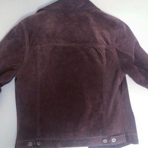 Eddie Bauer Jackets & Coats - **must go!** Genuine suede jacket